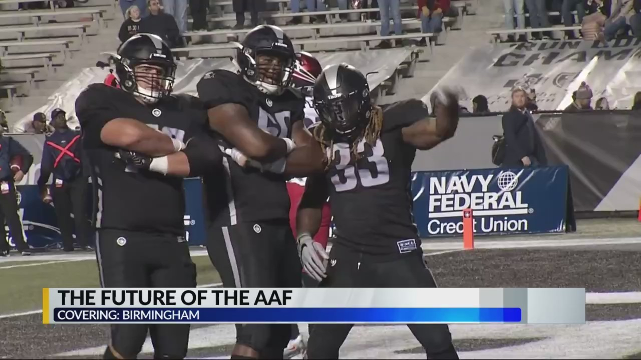 Birmingham Iron, city leaders not worried about dispute between AAF, NFL