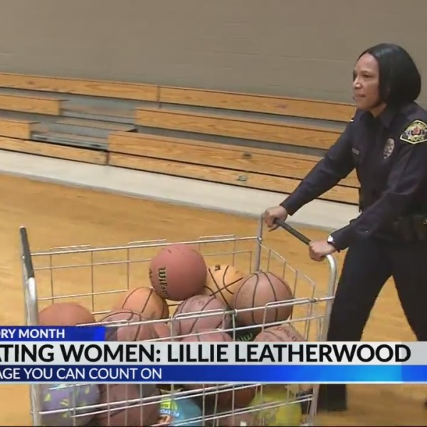 Celebrating Women: Police Officer Lillie Leatherwood