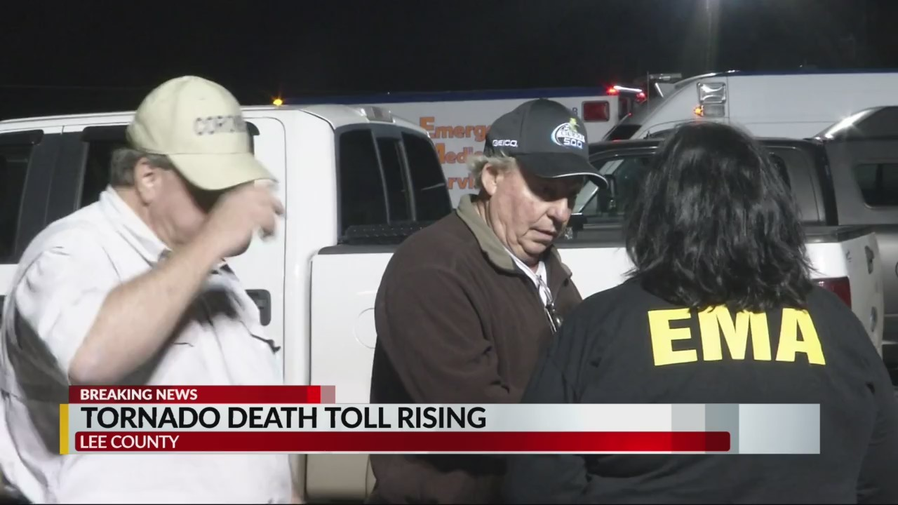 Death toll hits 23 in Lee County