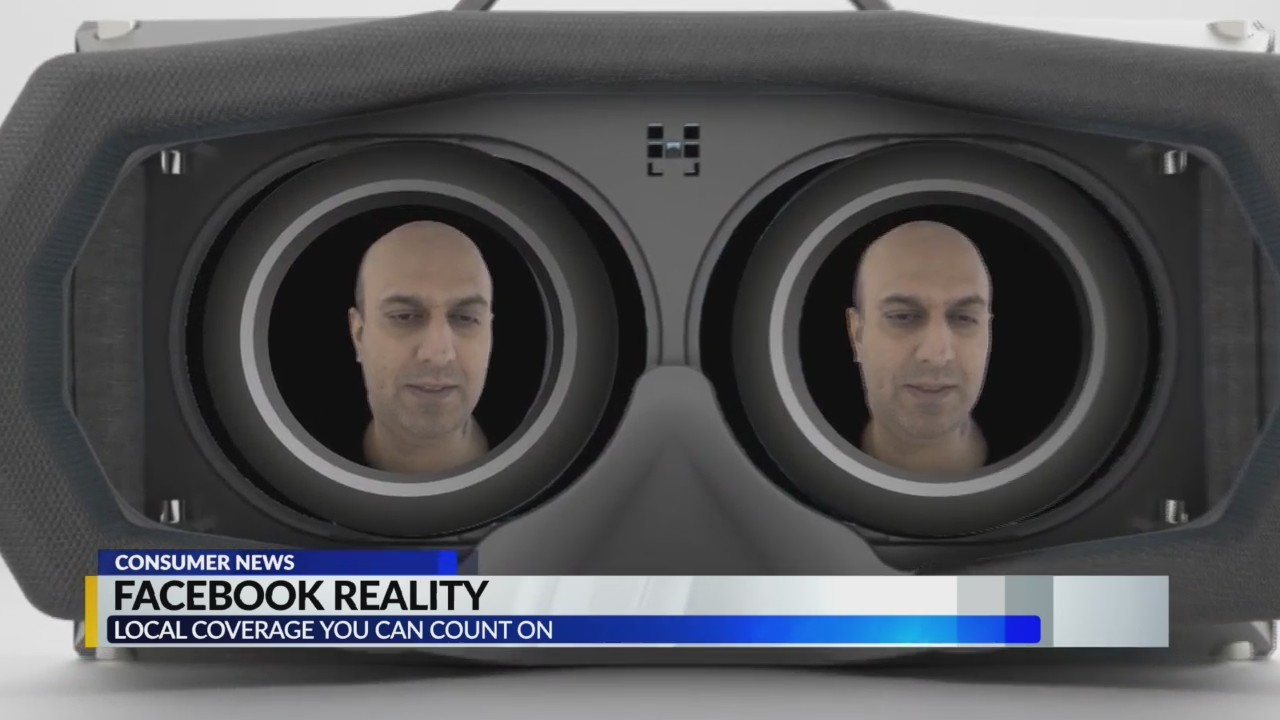Facebook creates VR of real people