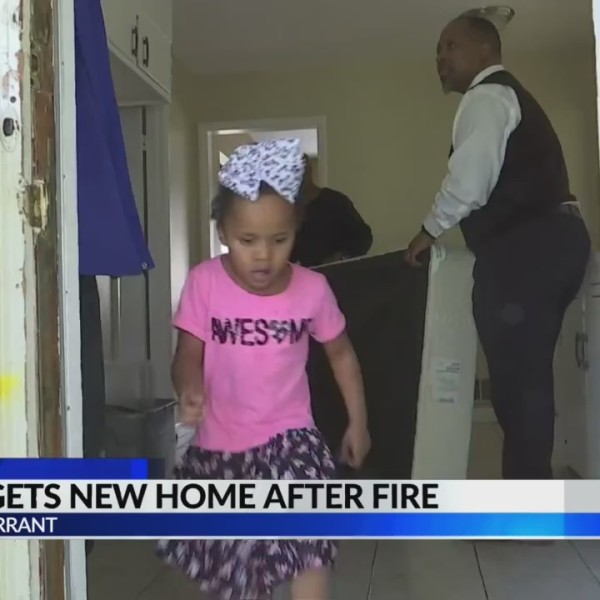 Family gets new home after house fire