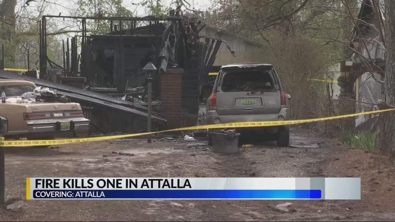Fire kills one in Attalla