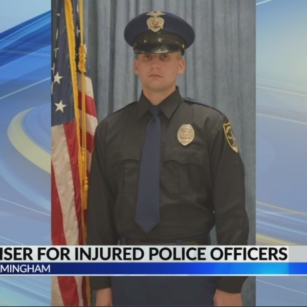 Fundraiser for injured police officers