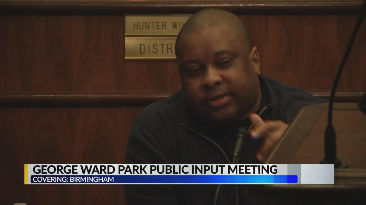 George Ward Park Public Input Meeting