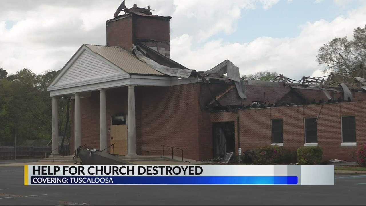 Help for Tuscaloosa church destroyed
