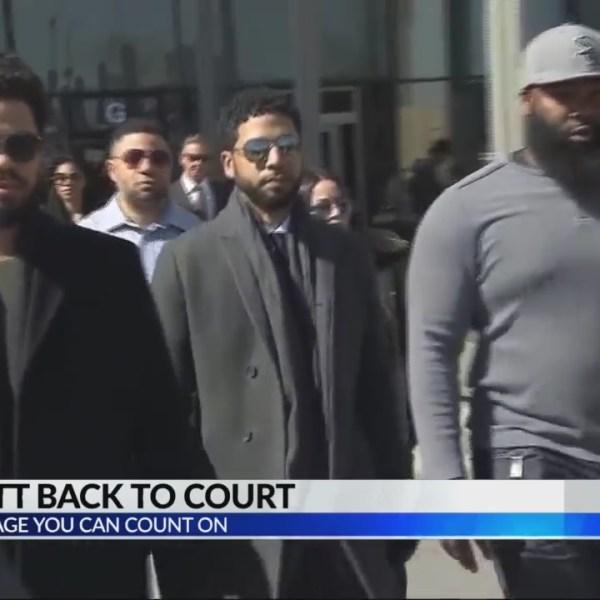 Jussie Smollett back in court today