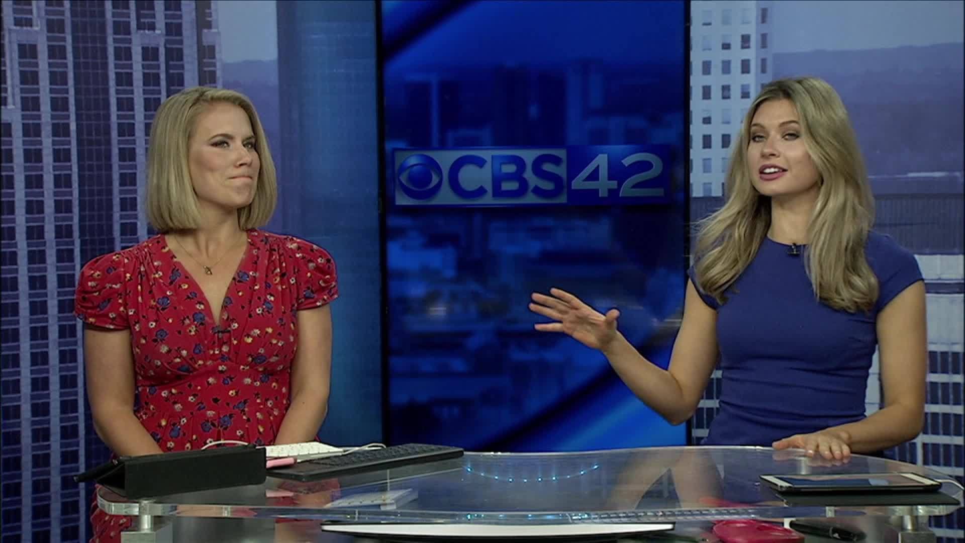 Michelle and Leigh answer CBS 42 Sports Team Bonefrog challenge