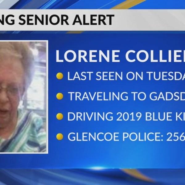 Missing senior alert out of Gadsden