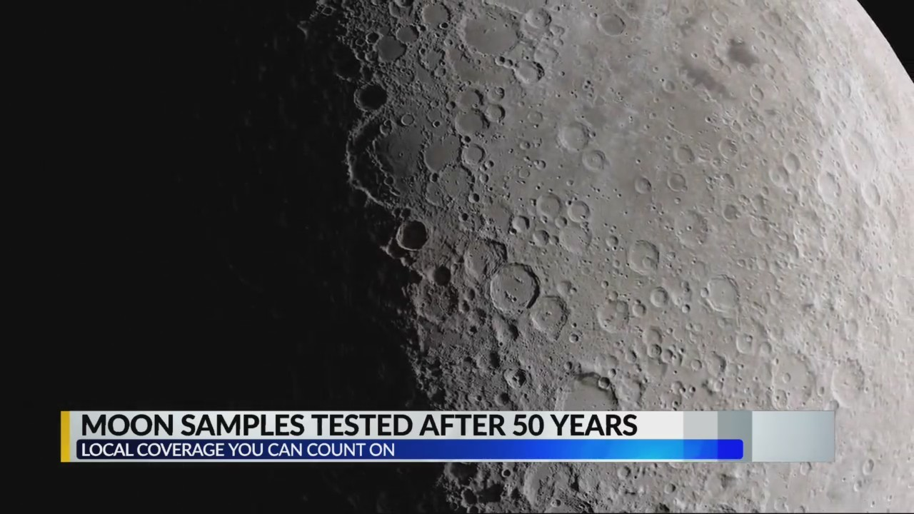 Moon samples to be studied after 50 years