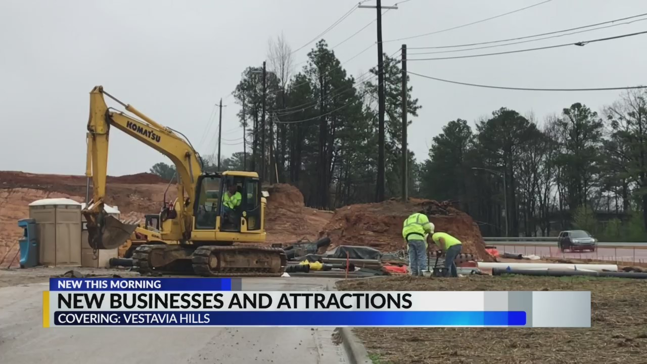 New businesses & attractions coming to Vestavia
