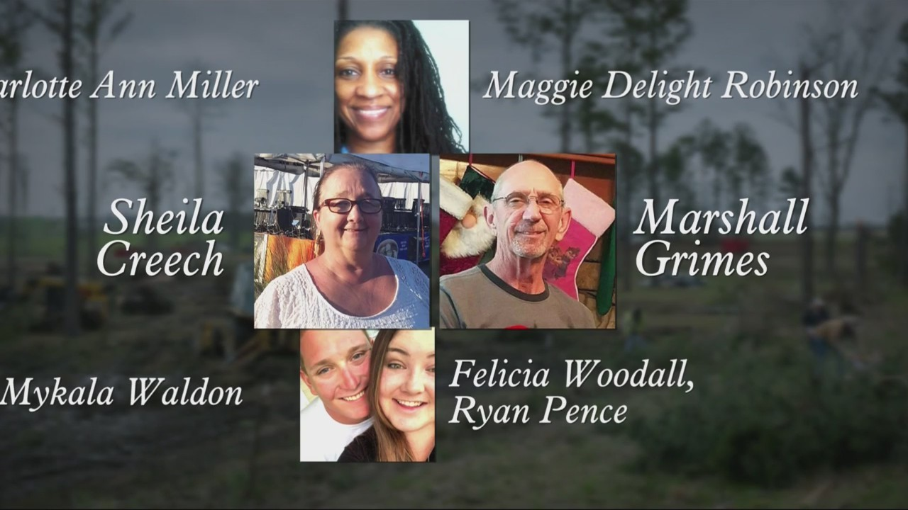 Remembering 23 victims in Lee County tornadoes