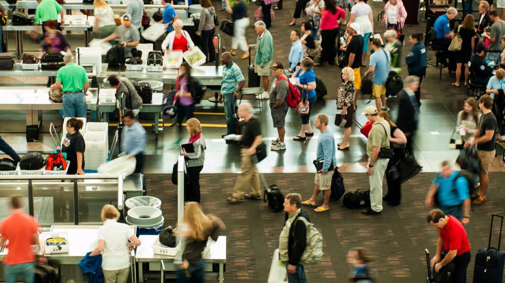 TSA using 3D technology