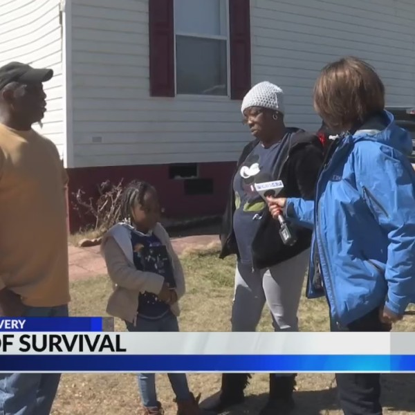Tale of survival: Family survives tornado in closet