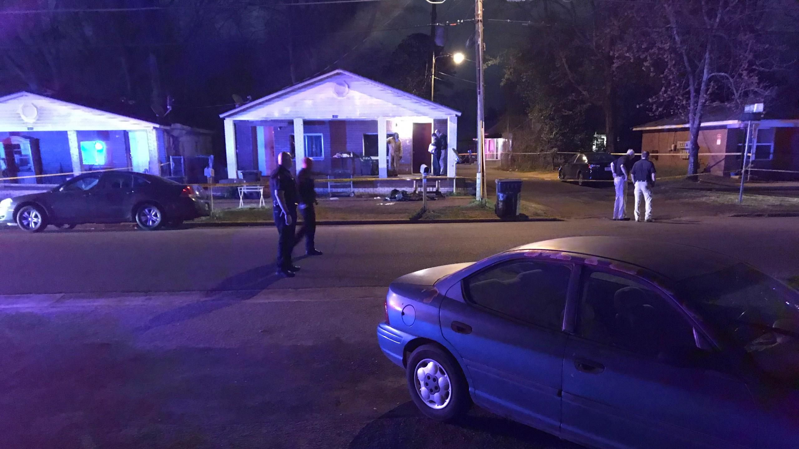 Tuscaloosa homicide investigation