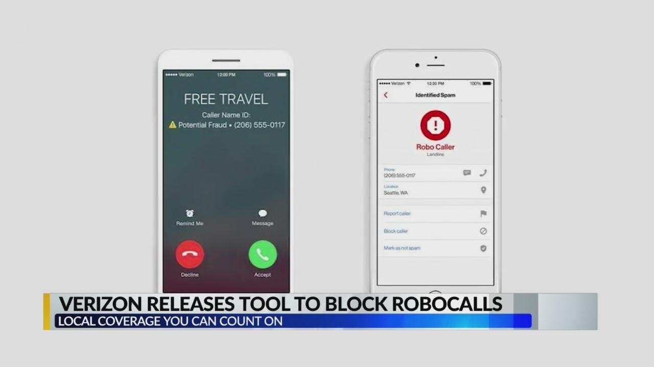 Verizon releases tool to block robocalls