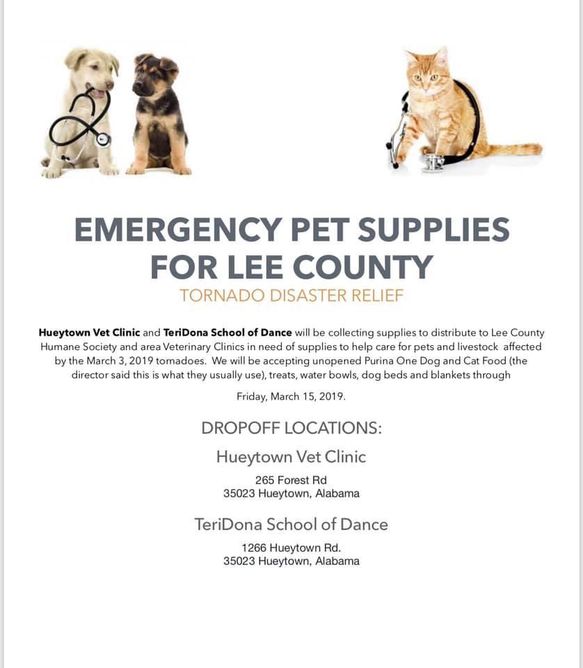 hueytown vet clinic collects supplies_1551752272616.jpg.jpg