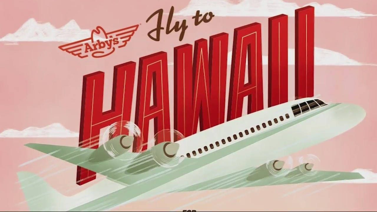 $6 Hawaii trip sponsored by Arbys