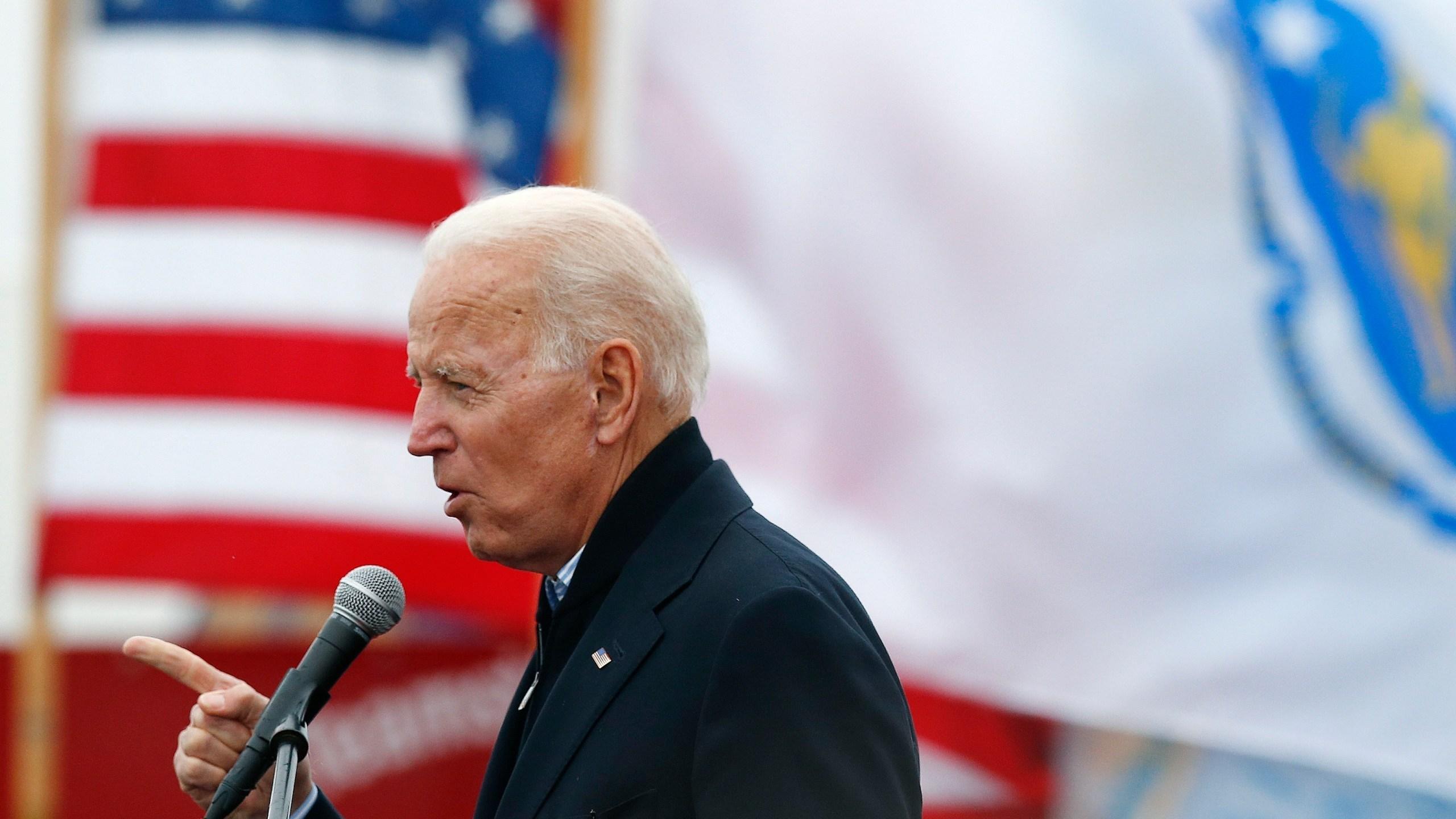 Election 2020 Joe Biden_American flag