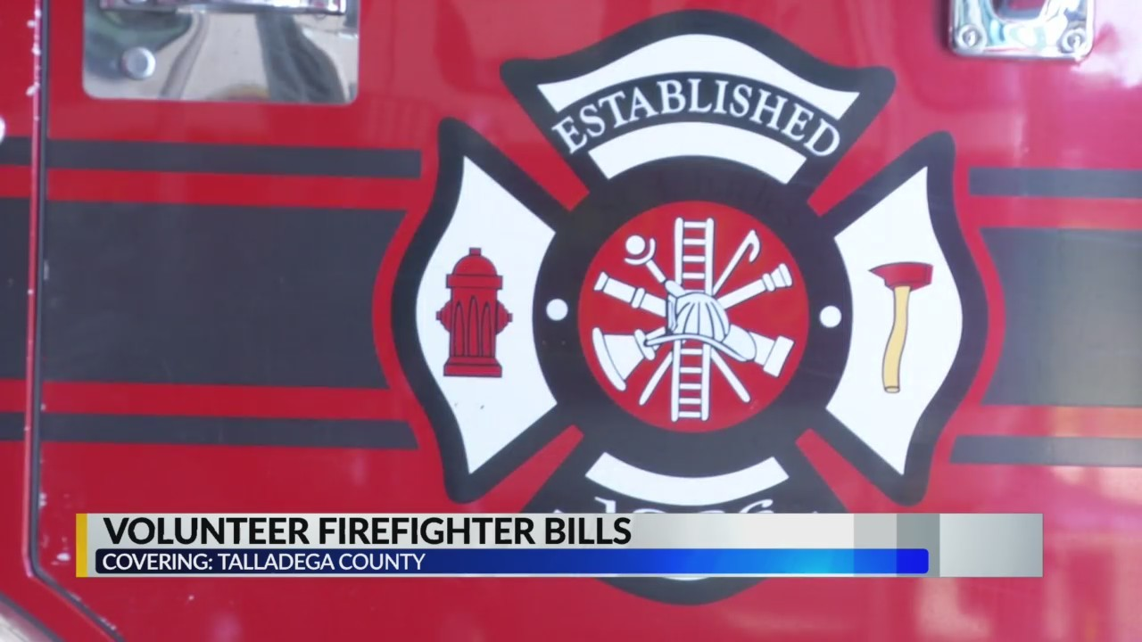 Bill proposals that will impact Talladega county volunteer fire departments