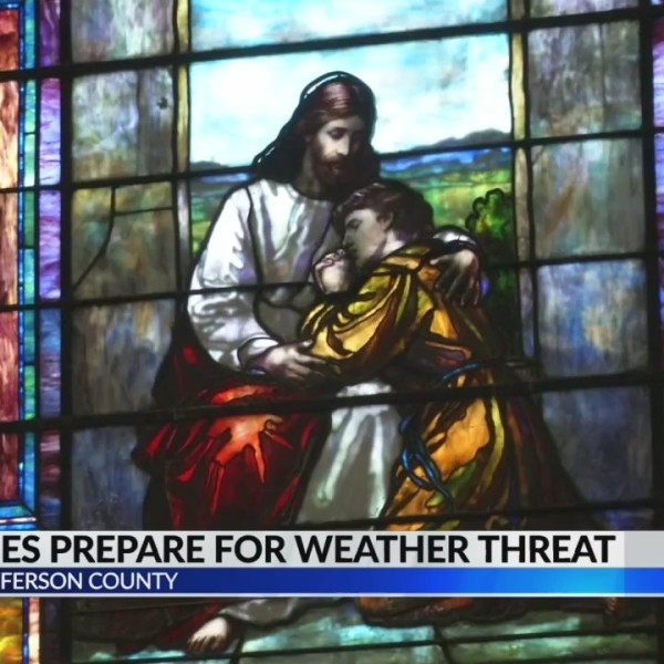 Churches prepare for severe weather threat on Palm Sunday