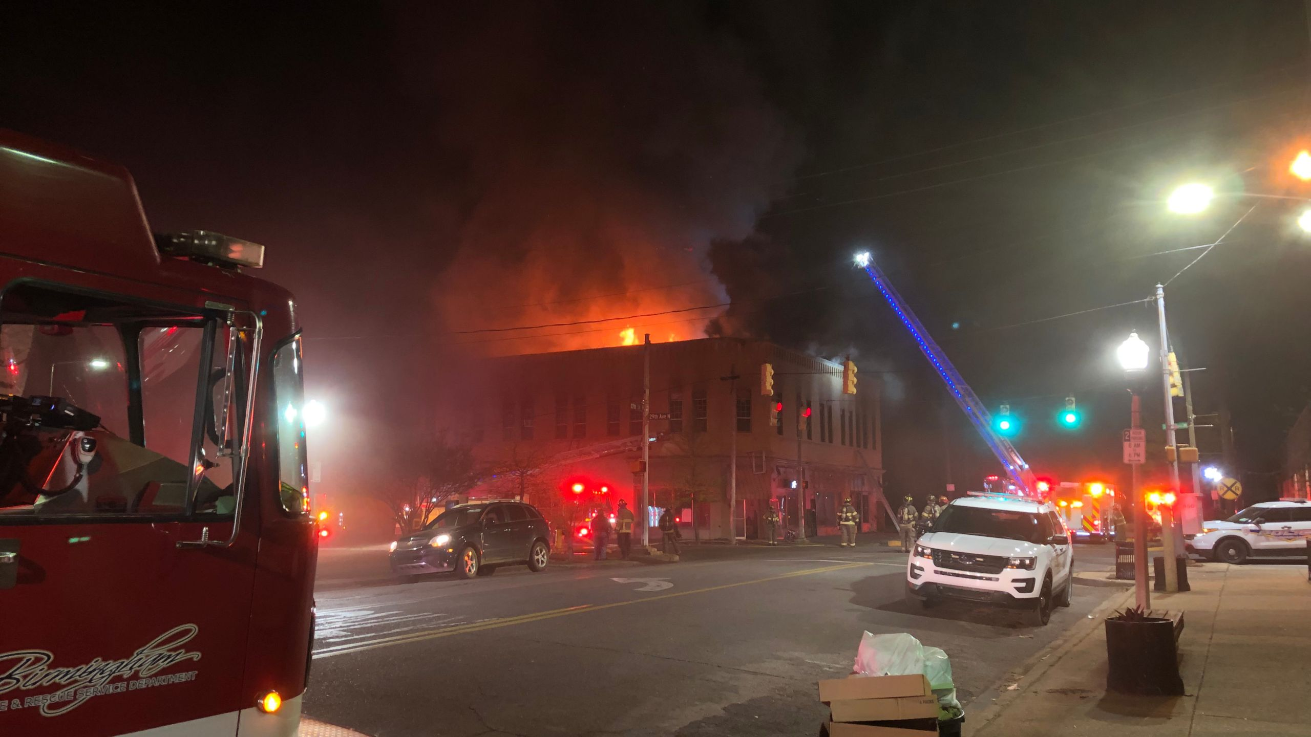Commercial fire_twostory