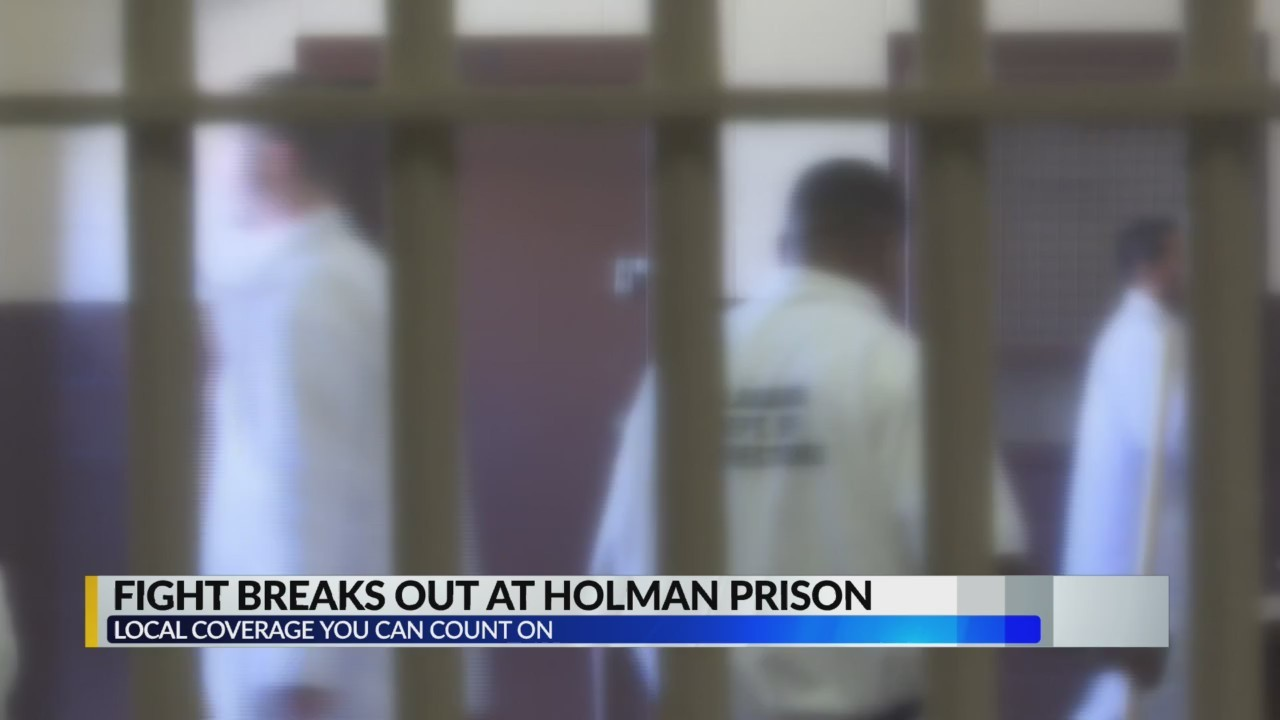 Fight breaks out at Alabama prison