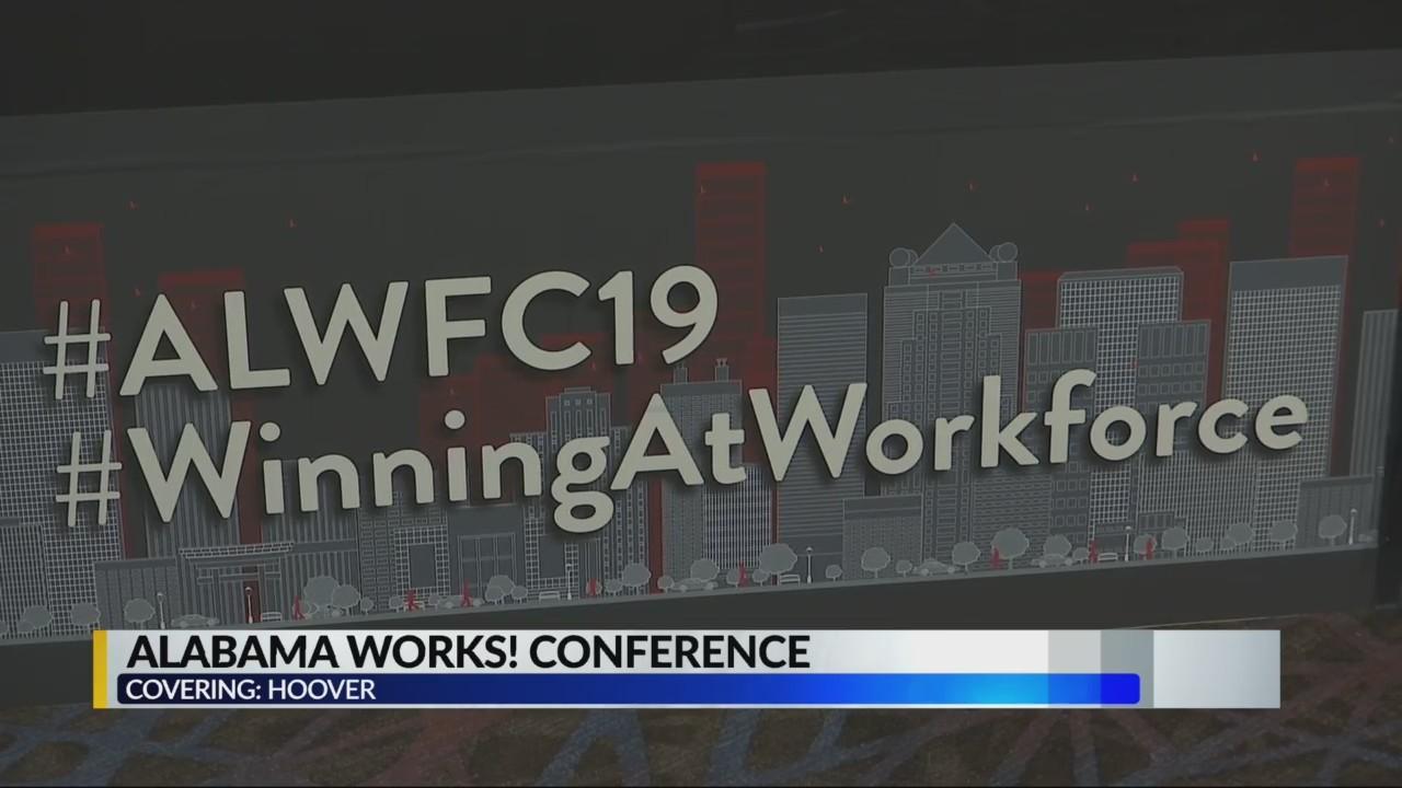 Gov. Kay Ivey attends Alabama Works! conference