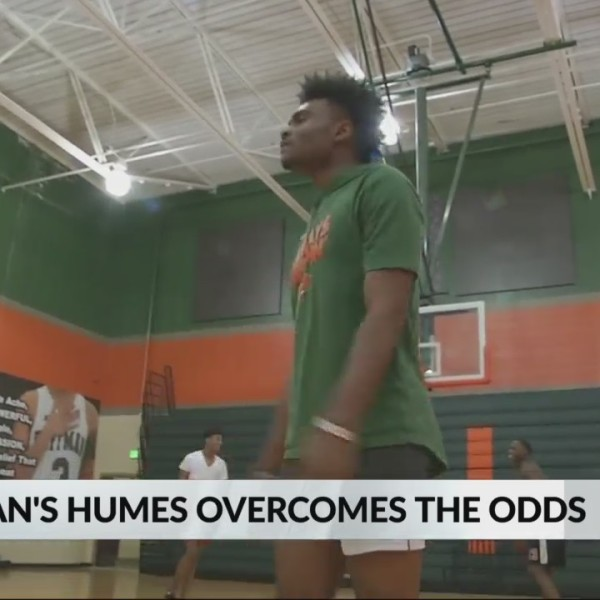 Huffman's Cameron Humes overcomes adversity to lead Vikings