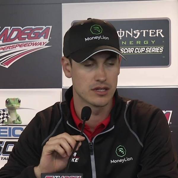 Joey Logano Speaks to Media Before Talladega Race on Sunday