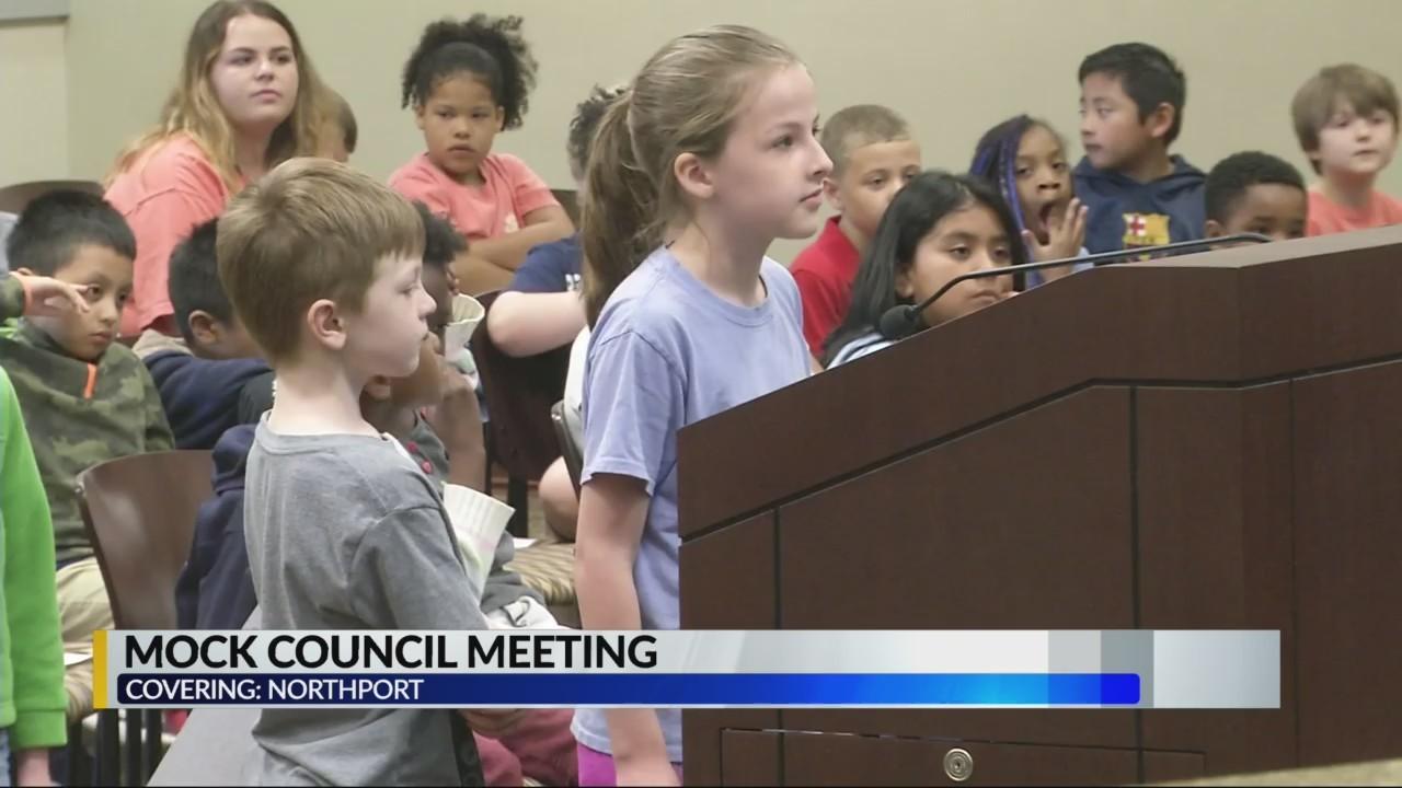 Mock city council meetings