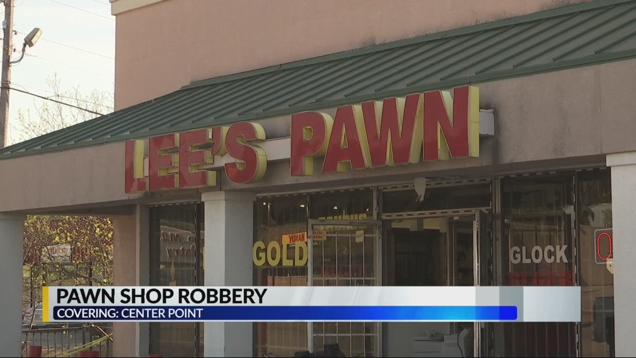 Pawn shop robbery in Jefferson County