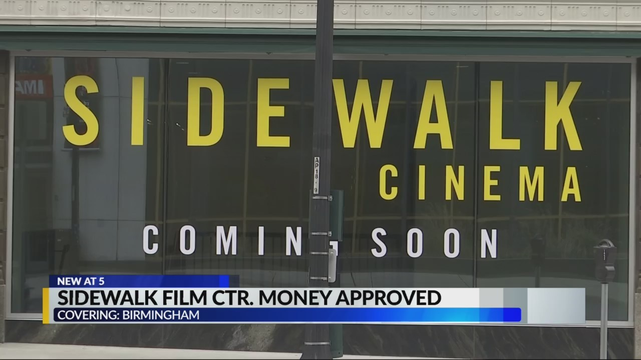 Sidewalk Film Center money approved