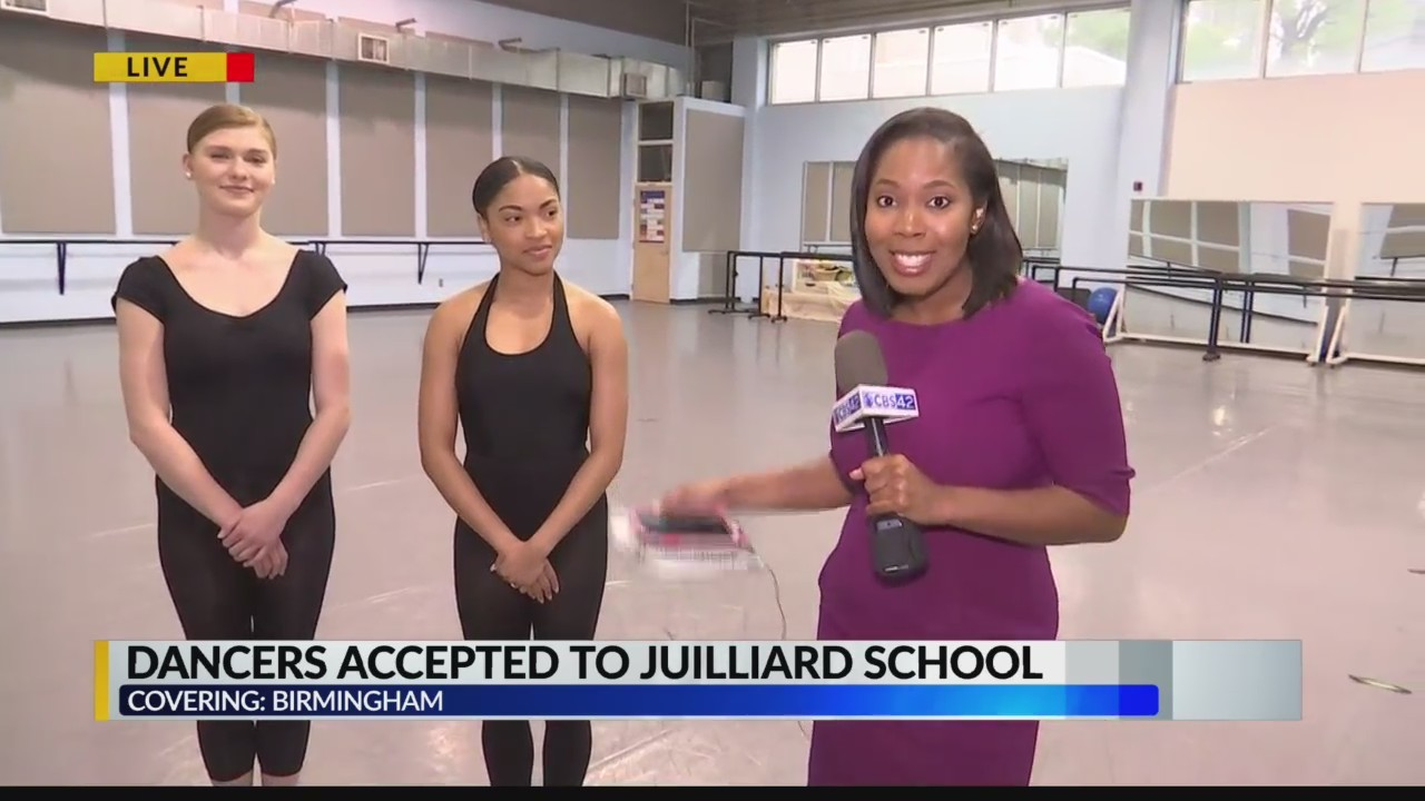Two dancers accepted to Julliard School
