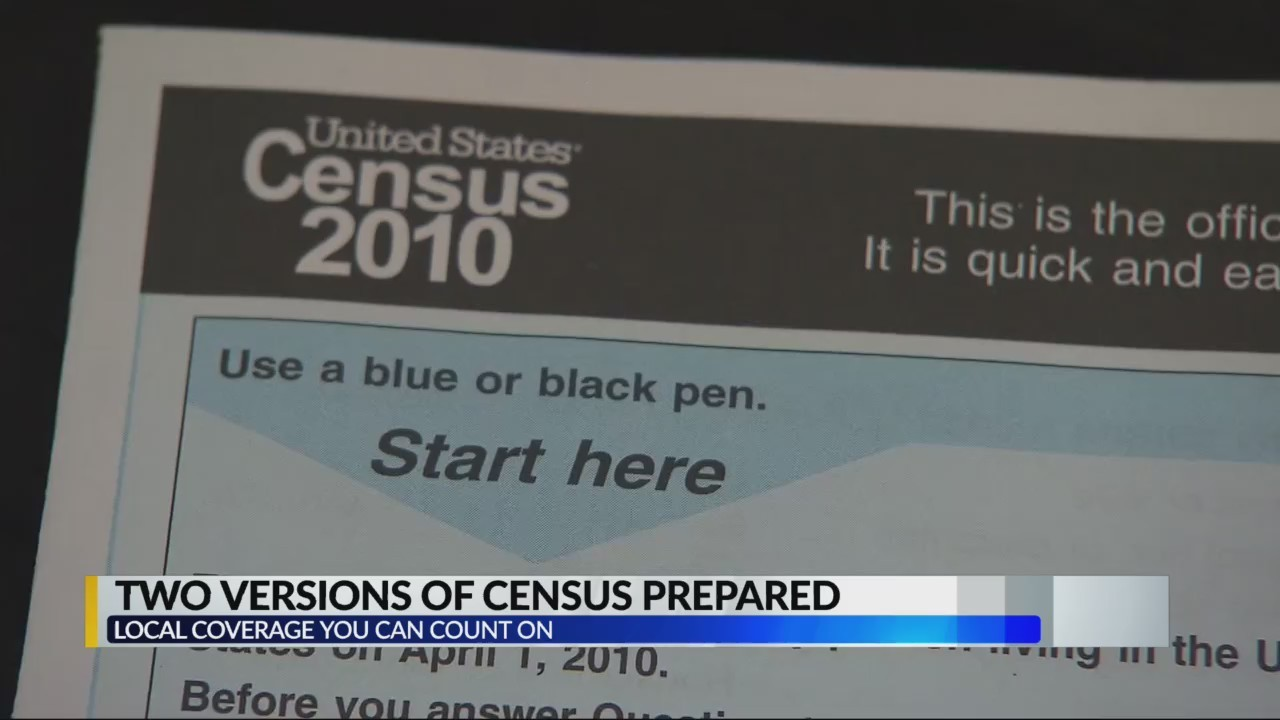 Two versions of the 2020 Census is in the works