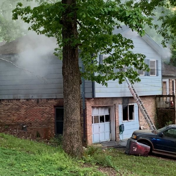 Vacant House fire 16th Terrace_