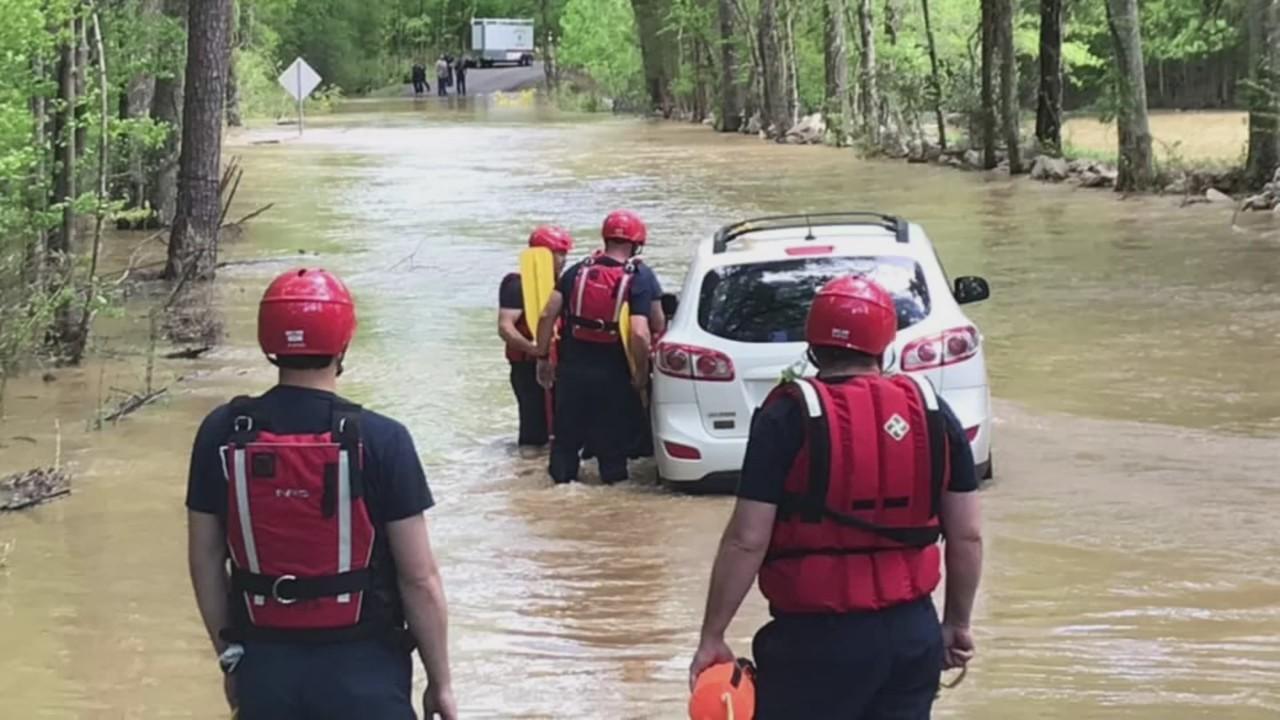 Water rescue in Jefferson County