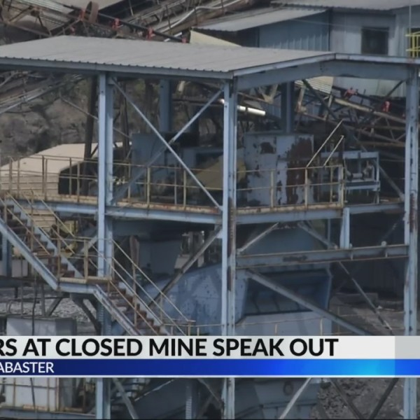 Workers react to Jesse Creek Mining Co. Closure