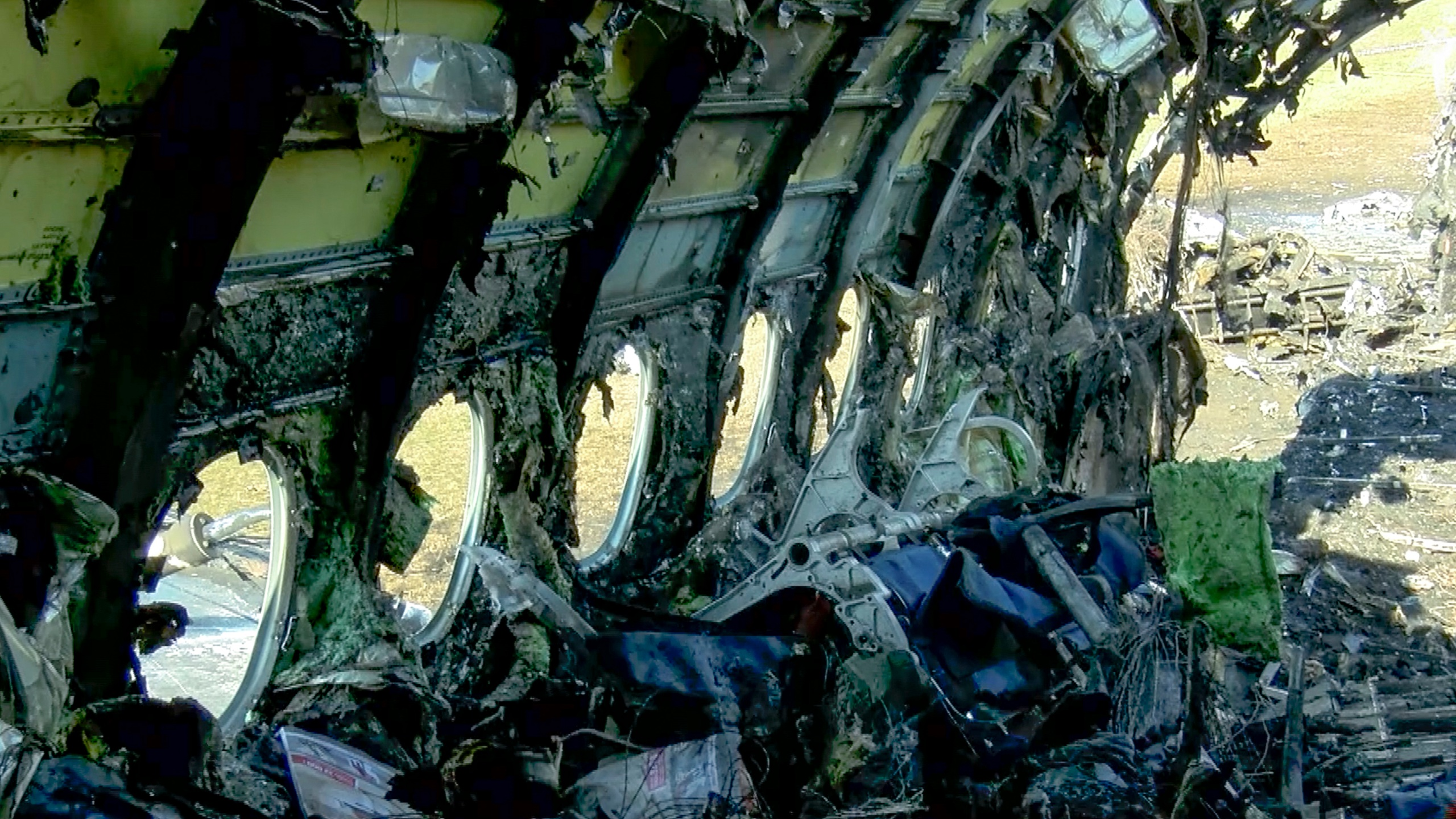Russia Plane Fire_remnants