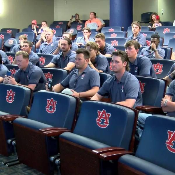 Auburn reacts to NCAA draw