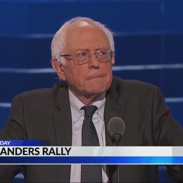 Bernie Sanders in Birmingham