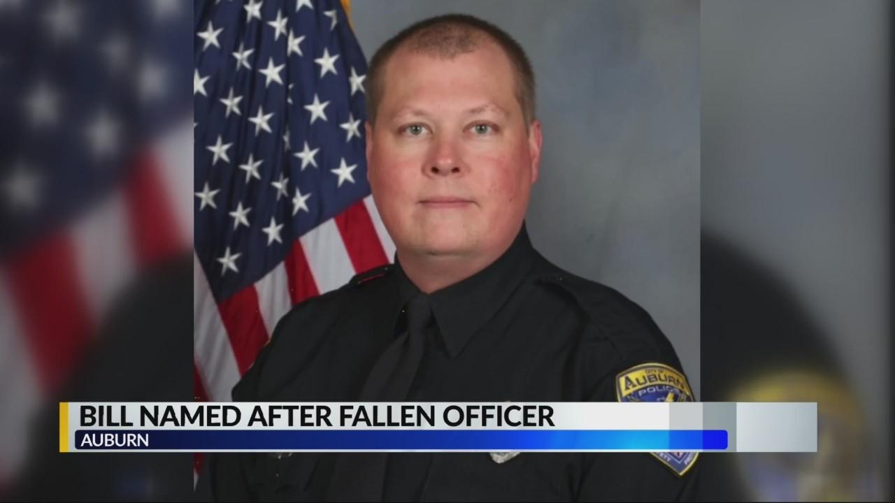 Bill named after Fallen Auburn Officer
