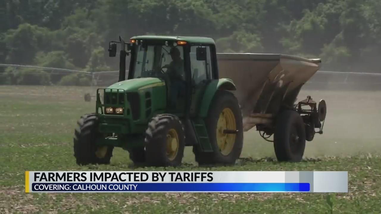 Calhoun County farmers optimistic higher tariffs will yield fair trade