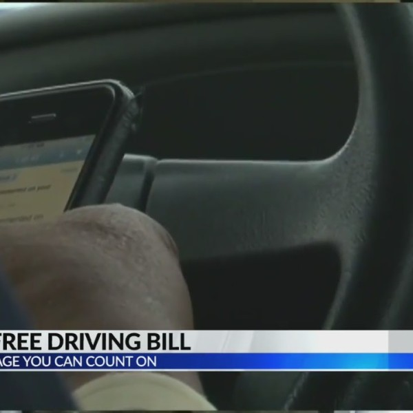 Hands free driving bill still alive in Senate