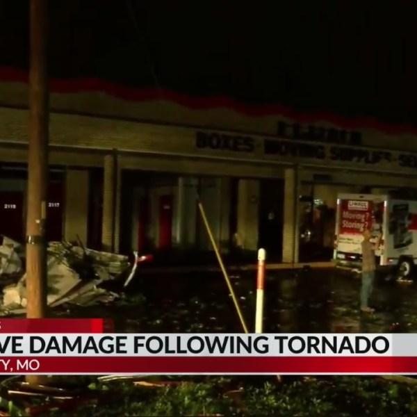 Jefferson City Missouri storm damage