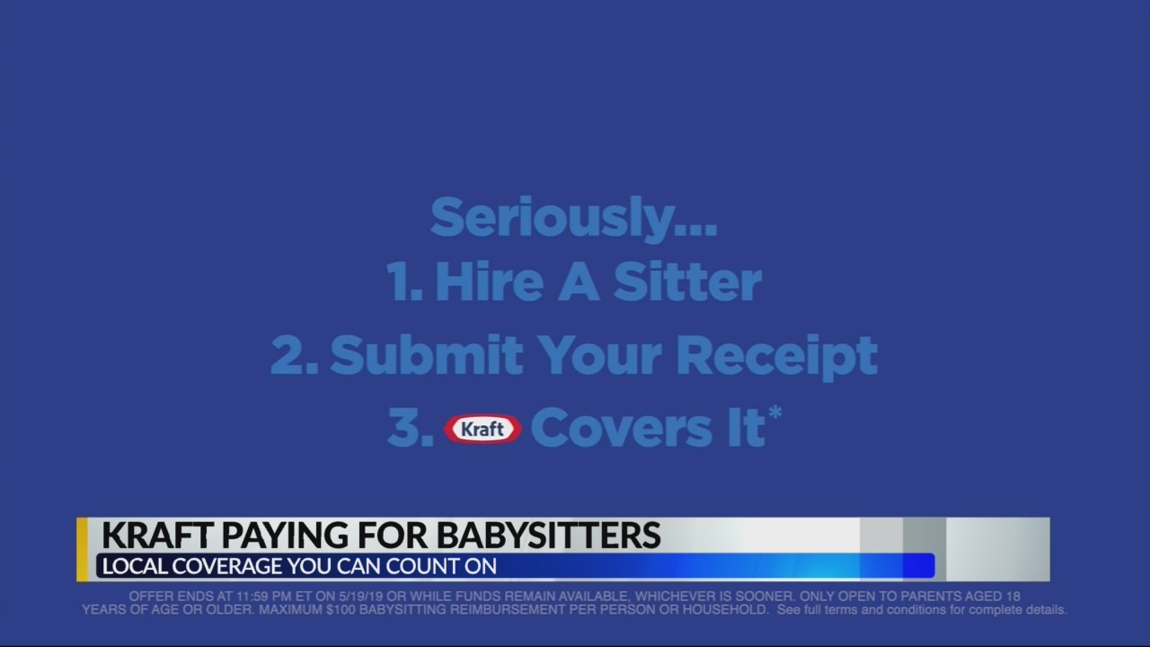 Kraft Paying for Babysitters