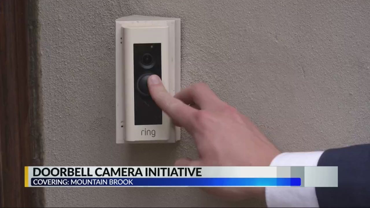 Mountain Brook first city in the nation to promote city-wide Ring-style security doorbells, cameras