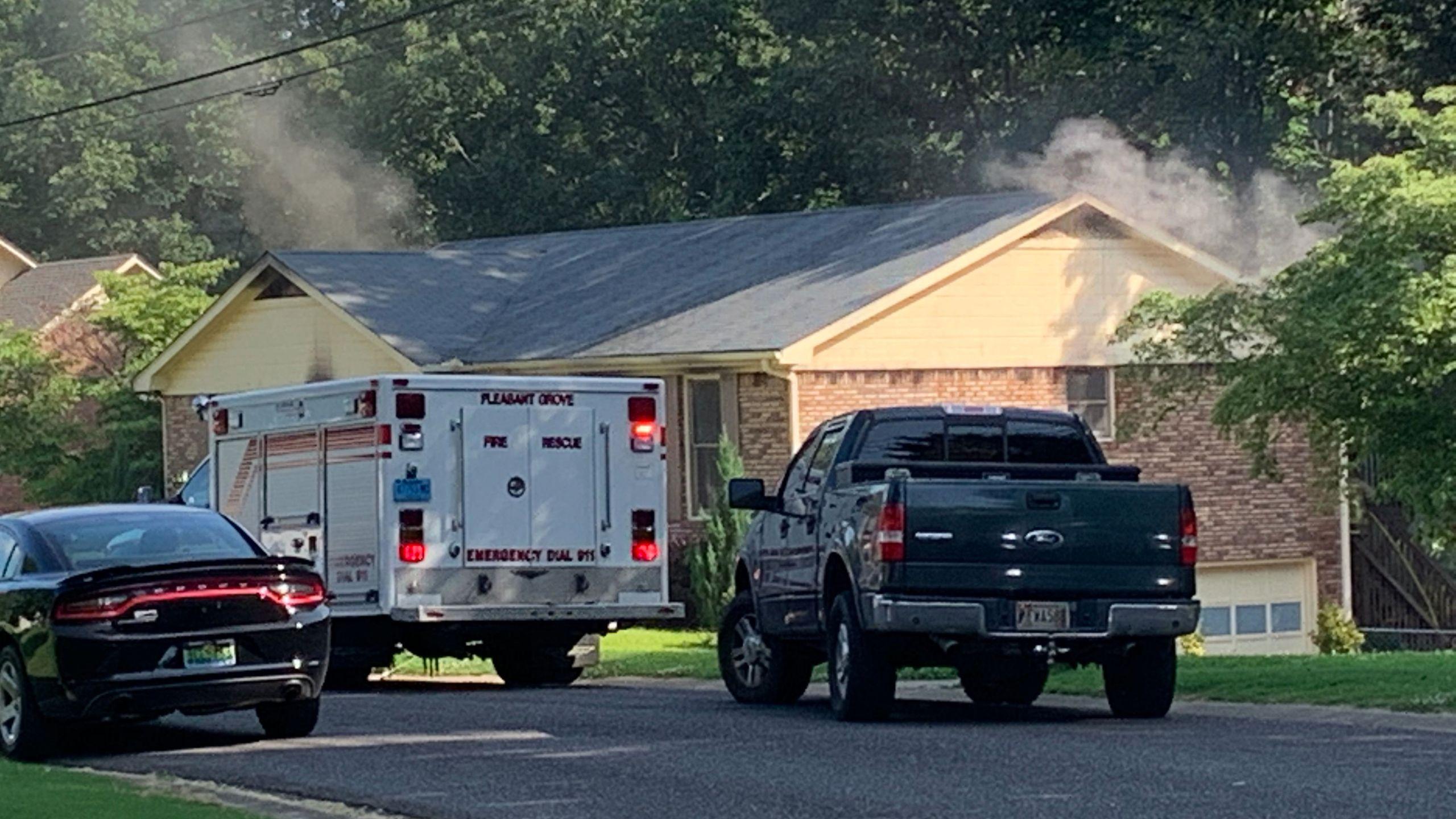 Pleasant Grove House Fire
