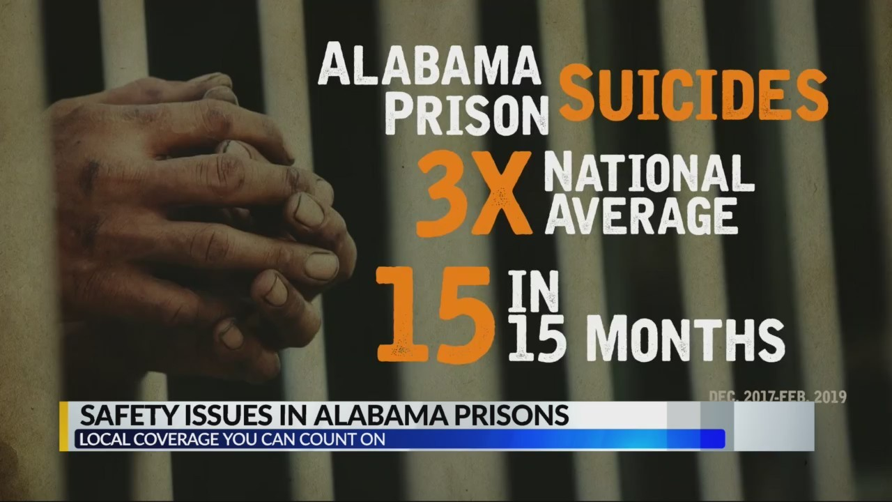 Safety issues in Alabama prisons
