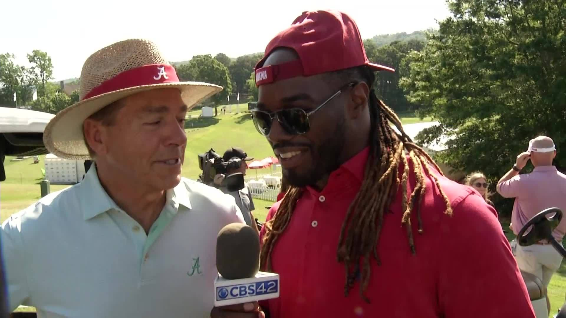 Trent Richardson: CBS 42 Golf Correspondent at the Regions
