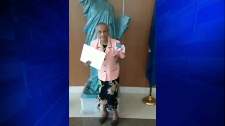 103-year-old granted US citizenship